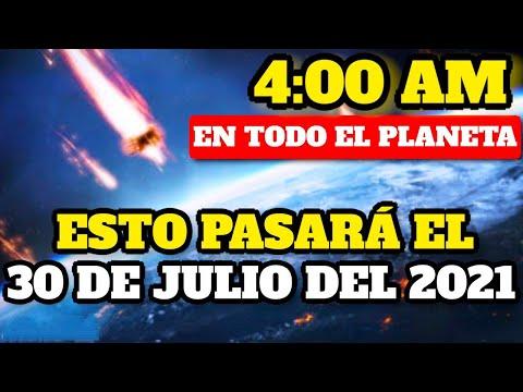 ¡Se Confirmó! Esto Pasará El 30 De Julio Del 2021 A Las 4:00 AM En Todo El Mundo