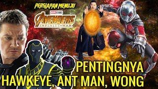 Peran HAWKEYE Sebagai Ronin , Posisi ANT MAN , Wong Tau SOUL STONE dimana di Avengers Infinity War !