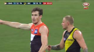 Last two minutes: GWS Giants v Richmond