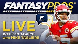 Live Week 10 Fantasy Football Q&A (2019)