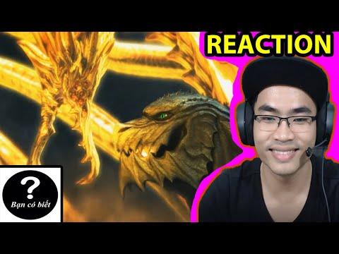 (REACTION) GODZILLA EARTH vs KING GHIDORAH VOID [MMD]- Bạn Có Biết?