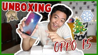 UNBOXING OPPO F5 + Quick Review | VLOGMAS