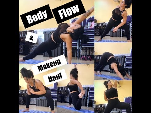 make-up-haul-+-body-flow-+-squat-test-your-legging's