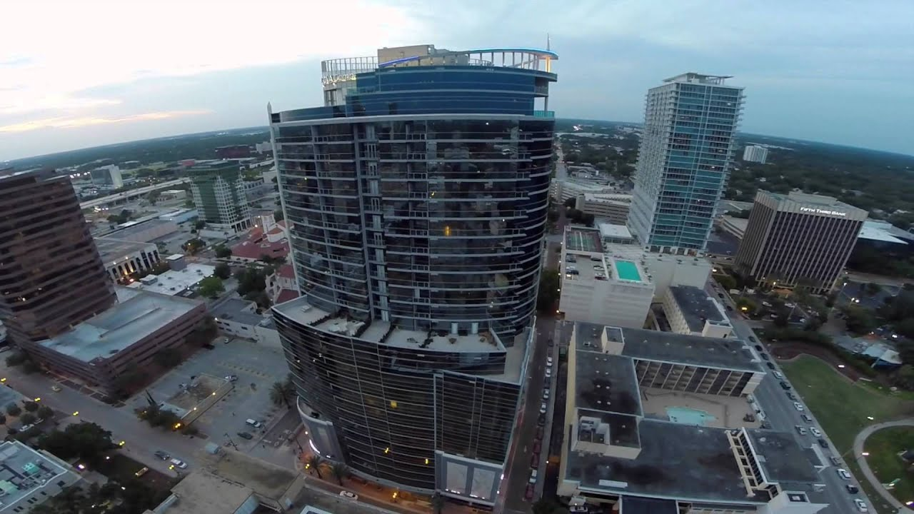 Beautiful Aspire Downtown Orlando (Drone Aerial View)   YouTube Amazing Pictures