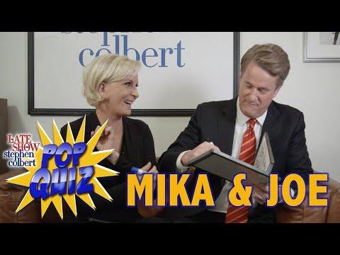 Pop Quiz with Mika & Joe