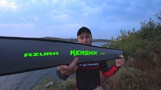 Ловля окуня на спиннинг Azura 20 Kenshin 8 1 ML