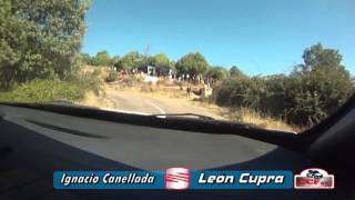 Team Le Mans - X Subida al Piélago 2013 - 1ª Subida oficial - Ignacio Canellada (Seat León Cupra R)