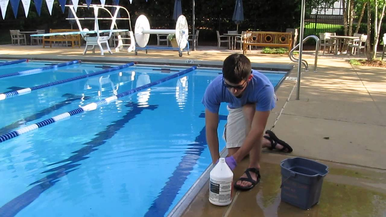 How To Add Muriatic Acid To Pools Safely And Without Fumes Youtube