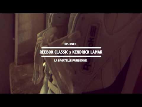 La bagatelle Parisienne - Reebok Classic X Kendrick Lamar