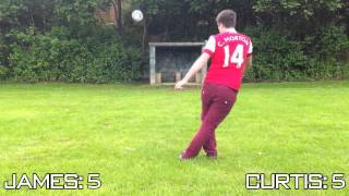 One of TheGamerCan's most viewed videos: Special Crossbar Challenge | Thanks for 10k Subscribers!