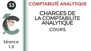 Comptabilité analytique; séance 1: les charges de la comptabilité analytique