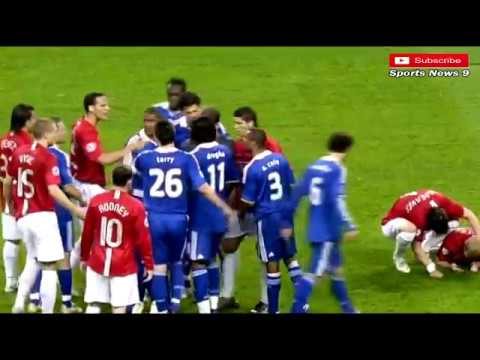 Ucl Final 2007 2008 Man United Vs Chelsea Penalty 6 5 Highlights Youtube