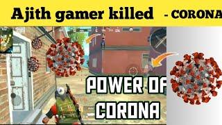 Corona virus killed Ajith gamer | pubg lite