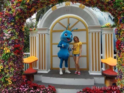"""Парк аттракционов """"Долина счастья"""" в Шеньжене (Amusement park """"Happy Valley"""" in Shenzhen)"""