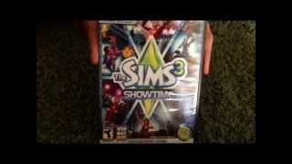 The Sims 3 ShowTime Unboxing
