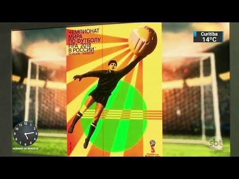 Rússia divulga o poster oficial da próxima Copa do Mundo  | SBT Notícias (29/11/17)
