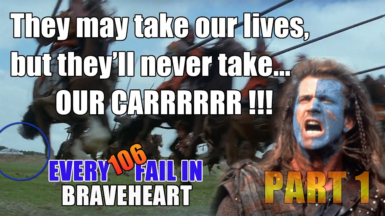 Every Movie Mistake In Braveheart That You Never Noticed Part 1 2