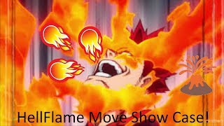 Roblox Mha Plus Ultra HellFlame Show Case#Roblox!