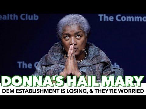 Donna Brazile Distracts While The Establishment Is Losing