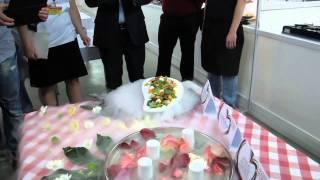 """Конкурс """"Ресторанный мир"""" приготовление салата 2"""