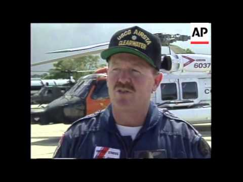 DOMINICAN REPUBLIC: BOEING 757 AIRCRAFT CRASH: SEARCH FOR SURVIVORS