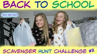Back to School 2017 ~ Walmart Scavenger Hunt Challenge ~ Jacy …