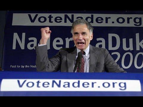 Democrats, I Will Be You Confessor & Ralph Nader