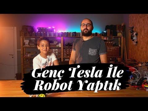 Genç Tesla İle Robot Yaptık! (Bluetooth Kontrollü Araba)