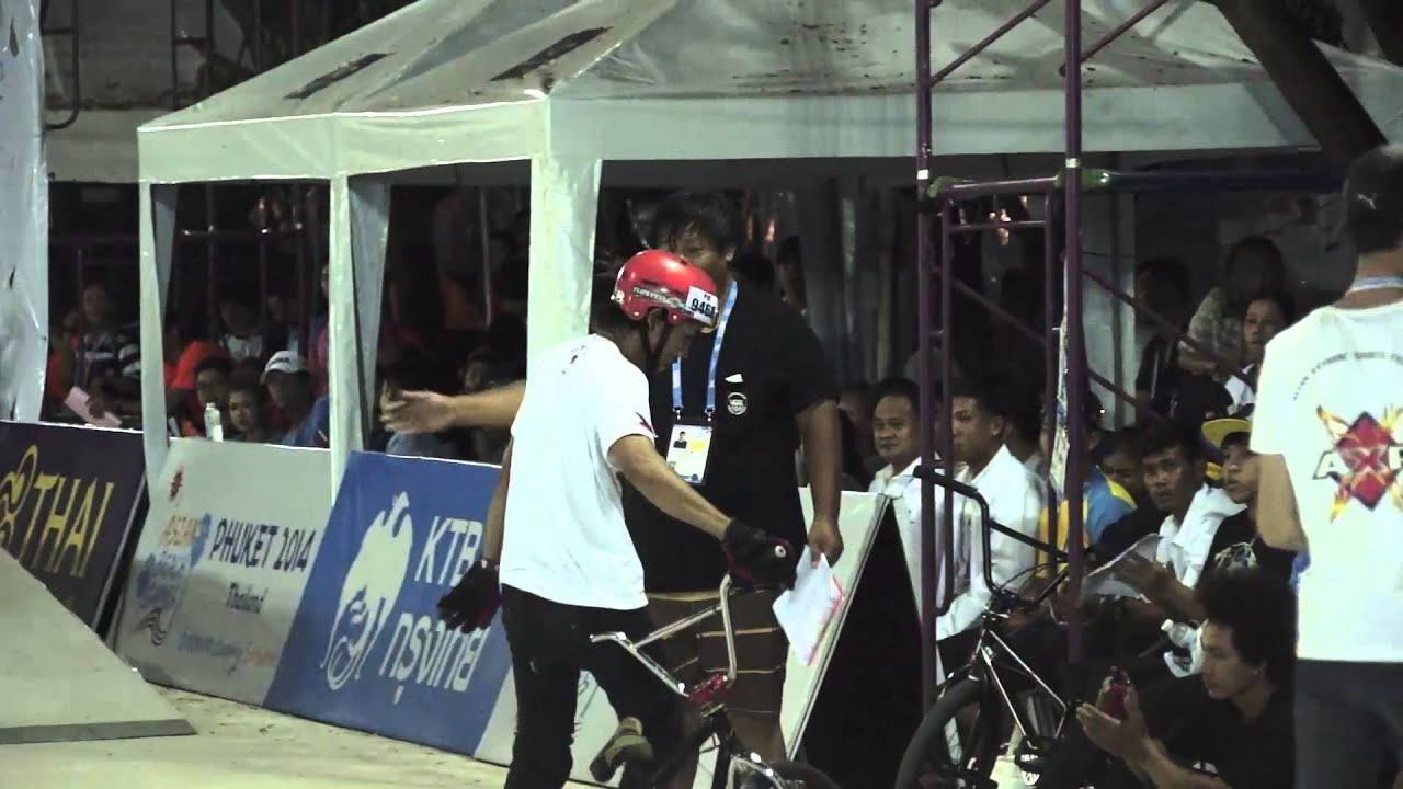 Asian Beach Games  Bmx Stunt Park Mariano Armand Philippines Youtube