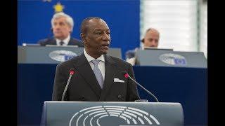 Alpha Condé s'adresse au Parlement de l'Union Européenne (L'intégralité de son discours)