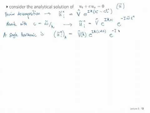 ME 702 - Computational Fluid Dynamics - Video Lesson 15