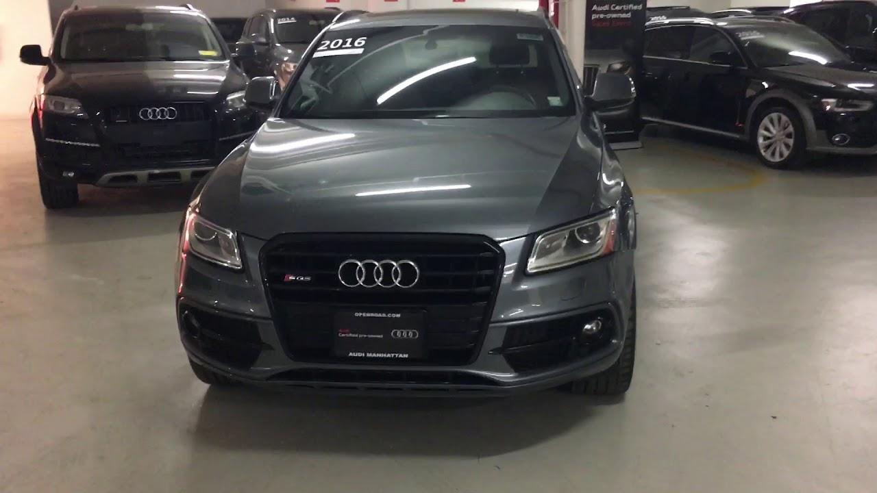 Sq CPO YouTube - Audi q5 cpo