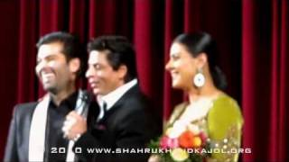 Shahrukh and Kajol in Berlin - MNIK Premiere 12.02.2010