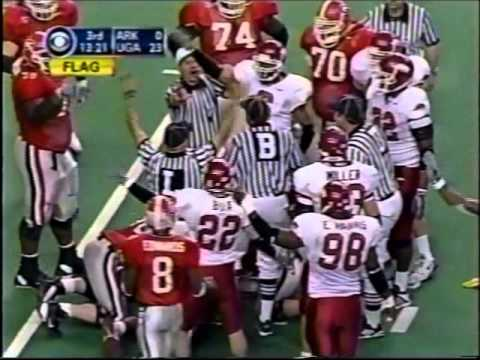 #4 Georgia Vs. #22 Arkansas - 2002 SEC Championship