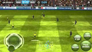 FIFA 2014 Android on Galaxy s2 gameplay