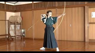 Japanese archery Kyudo Kyudo's Syaho   Miyako's Kyudo  