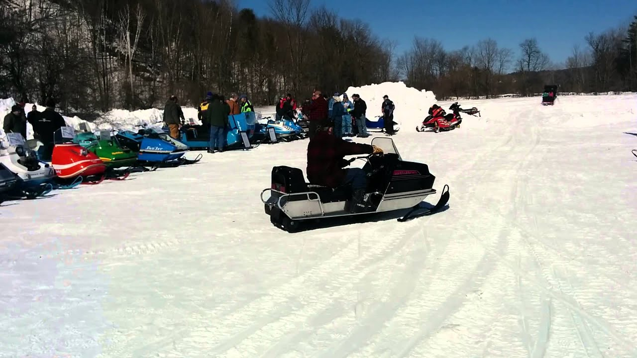 Taking A Spin On Vermont's Vintage Snowmobiles | Vermont