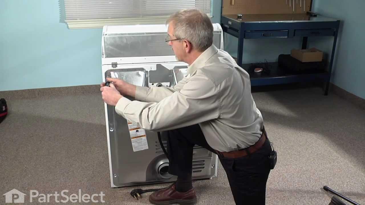 dryer repair replacing the thermal fuse whirlpool part 3392519  [ 1280 x 720 Pixel ]