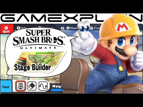 What We Want in Super Smash Bros. Ultimate's Stage Builder + 3.0 Update - DISCUSSION thumbnail