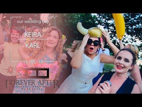 Keira & Karl Wardzynski - 'Walking On Sunshine' Marryoke