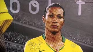 Ex-jogadora da seleção brasileira agora é açougueira