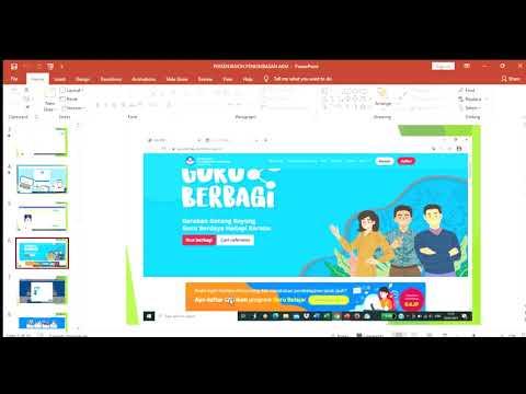 VIDEO PENGIMBASAN BIMTEK GURU BELAJAR SERI AKM Angkatan 5   PowerPoint 2021 02 09 09 58 27
