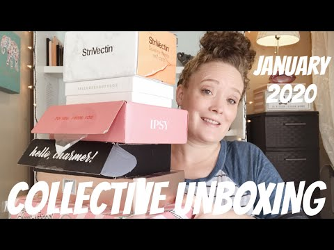 collective-unboxing-|-allure-~-ipsy-~-boxycharm-~-influenster-~-gifts-|-beauti-by-angela