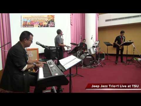 Jeep Jazz Trio+1 & TSU Lecturer @TSU Library, Songkla, Thailand.