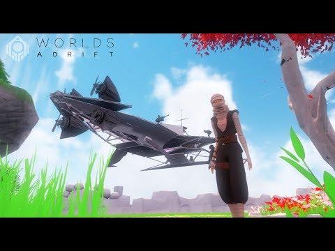 CONSTRUYO MI PROPIO BARCO VOLADOR!! 😍 - Worlds Adrift - Nexxuz