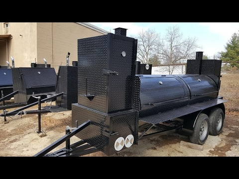Big Smokey Competition BBQ Smoker Grill Trailers Sale Rentals BBQ Catering  Events Atlanta Georgia