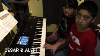 J.R Music School Aleni & César Méndez