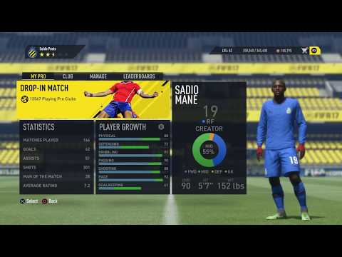 FIFA 17 Pro Clubs Skill Point Glitch *TUTORIAL*