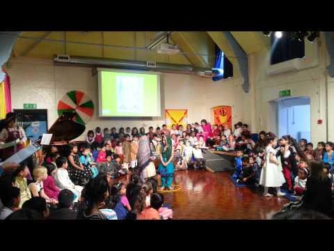 Vivia School Diwali Assembly 2012