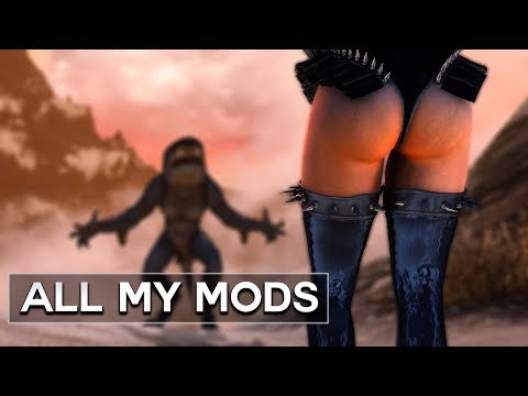 Skyrim - All Mods That I Use